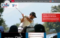 Nombre del proyecto: Diseño y desarrollo de sitio web institucional.  Estado a la fecha: Implementado y Funcionando.  Descripción: Diseño y desarrollo del sitio web del Campeonato de Golf Chile Classic 2013.