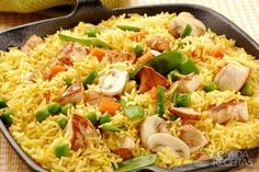 Looking for recipes and cooking tips? Whether you are looking for a quick and easy recipe, healthy recipes, or food ideas & tips for a special occasion, we have you covered. Spanish Paella Recipe, Cooking Tips, Cooking Recipes, Portuguese Recipes, Pasta, Fried Rice, Easy Meals, Chicken, Meat