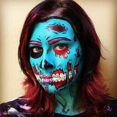 Pop Art Zombie - 2015 Halloween Costume Contest via @costume_works