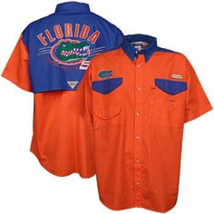 Columbia Florida Gators Performance Fishing Shirt