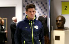 John Stones of Manchester City arrives prior to the Premier League. England National Football Team, National Football Teams, Tottenham Hotspur, Football Boys, Football Players, Manchester City, John Stones, Wembley Stadium, Premier League Matches