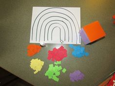 roll a rainbow game