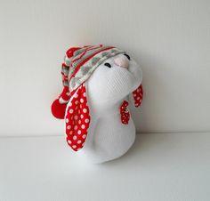 sock bunny   Flickr - Photo Sharing!