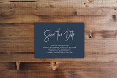 Save the Date Wedding save the date Printable Save the Date