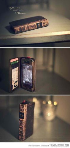 This is a really awesome iPhone case idea!! Brilliant!