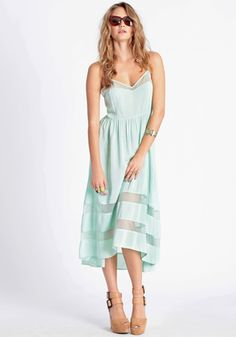Summer weddings.  Shy Gal High-Low Dress...Great dress for a guest...
