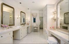Jessica Simpson S Shabby Chic Bathroom Decorated By Rachel Ashwell Lovely