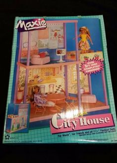 1988-Hasbro-Maxie-Lifestyle-City-House-Item-14009