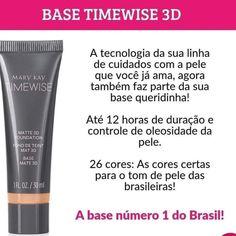 Base Mary Kay, Mary Kay Ash, Mark Kay, Mary Kay Brasil, Skin Care, How To Make, Makeup, Oil Control, Mary Kay Makeup