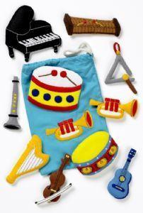 felt musical instrument ideas - Google Search
