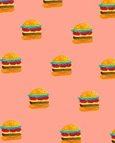 Painterly Burgers.