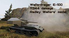 Waffentrager E-100 11344 damage Radley Walters' medal
