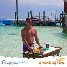 """The best outdoor kitchen with the most incredible view is #AWorldOfDifference #TheBahamas"" #Travel #Holiday"