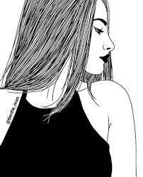 Resultado de imagen de dibujos faciles de chicas tumblr cute