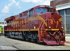 RailPictures.Net Photo: NS 8102 Norfolk Southern GE ES44AC at Spencer, North Carolina by Stephen Riley