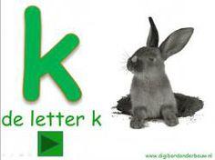*▶ Digibordles k van konijn