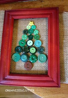 I worked on Christmas crafts this weekend.    I started with Dollar Tree 4 x 6 frames.  The frames were real wood stained or painted red.  I...