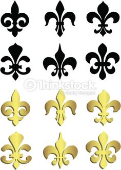 desenhos para etiquetas flor de liz - Pesquisa Google