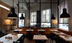 Oporto almacén restaurante, Buenos Aires, Argentina - ARTURO PERUZZOTTI arquitecto