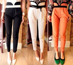 Casual High-Waisted Pant  $30