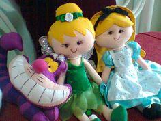 Alice, Sininho e Gato Risonho