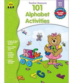 101 Alphabet Activities Resource Book - Carson Dellosa Publishing Education Supplies