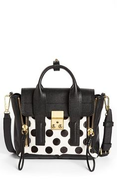 3.1 Phillip Lim 'Pashli - Mini' Calf Hair & Leather Satchel | Nordstrom