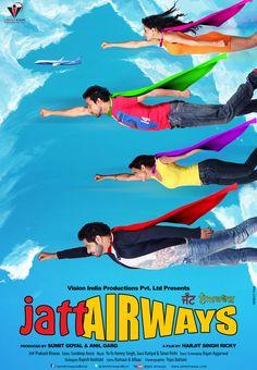 JATT AIRWAYS is an upcoming one of the biggest punjabi movies starring ALFAAZ, TULIP JOSHI, Padam Bhola, Smriti Khanna Jaswinder Bhalla, Binnu Dhillon, Rana Jang Bahadur, BN Sharma, Deepak Raja, Karamjit Anmol, Manreet Kaur, Kulwant Gill and many more.