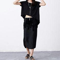 Original Tasse-embellished Pencil Skirt | SKU: LininB060