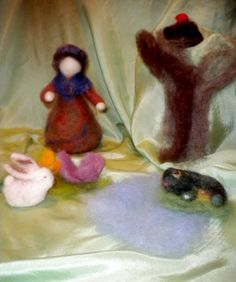 A story poem for spring (and felting tutorial) from Suzanne Down