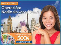 descuento de hasta 500€ con tu reserva de circuito entra y ha tu reserva en www.solyocio.com/viajesontheroad o contacta con nosotros