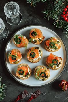 Smoked Salmon Appetizer, Party Food Platters, Good Food, Yummy Food, Cookery Books, Food Decoration, Savory Snacks, Food Photo, Food Hacks