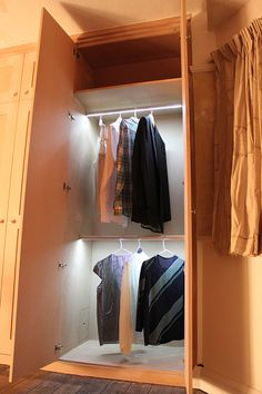 Fitted wardrobes LED lightings