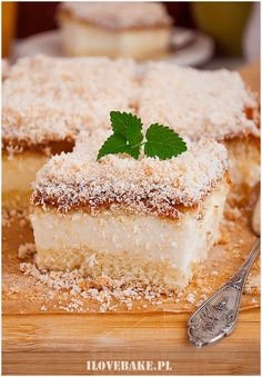 Ciasto danio - I Love Bake Vanilla Cake, Tiramisu, Cheesecake, Tasty, Sweets, Baking, Ethnic Recipes, Food, Cakes