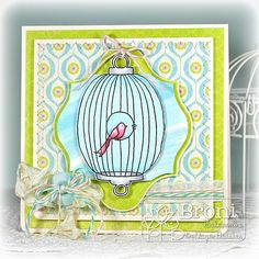 Oval Bird Cage (by Broni Holcombe)