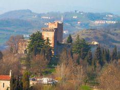 Romeo and Juliet's castles in Montecchio Maggiore, Italy