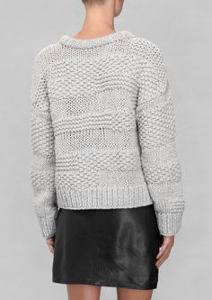 & Other Stories | Heavy Knit Sweater