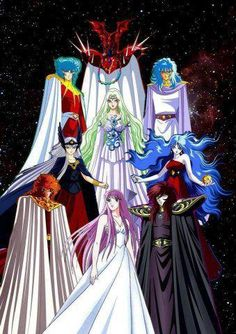 Saori Kido (Athena) Dioses : Apolo, Poseidon, Iris, Abel, Hilda, Hades, Artemisa, Saga De Geminis
