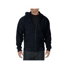 Big & Tall Dickies Full-Zip Hoodie, Men's, Size: Xl Tall, Dark Blue