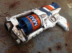 Nerf Strongarm Boarderlands Maliwan Custom Paint