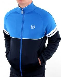 Largest stockist of Sergio Tacchini including Track Tops, Polo Shirts, Shorts, T Shirts and more. Mens Outdoor Jackets, Cute Workout Outfits, Track Suit Men, Tracksuit Tops, Men Style Tips, Mens Fashion Suits, Nike Outfits, Athletic Outfits, Sport Wear