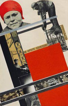 An der Front des sozialistischen Aufbaus Gustav Klutsis Graphic Design Posters, Modern Graphic Design, Collage Landscape, Russian Constructivism, Avantgarde, Russian Avant Garde, Propaganda Art, Socialist Realism, Murals Street Art