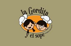 Desarrollo de nombre y logotipo para cenaduría de antojitos mexicanos.