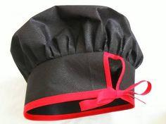 Resultado de imagen para como fazer chapeu de cozinheiro Hotel Uniform, Monthly Baby Photos, Cute Aprons, Sewing Aprons, Kids Apron, Girls Party Dress, Fabric Bags, Bandana, Sewing Patterns
