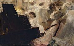 Bal Blanc Joseph Marius Avy