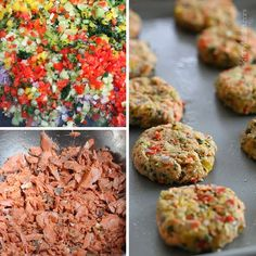 Baked Salmon Cakes | Skinnytaste Consider doubling the recipe and making bigger burgers for a main dish