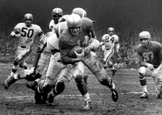 Cleveland at Detroit NFL Championship Game December 27, 1953