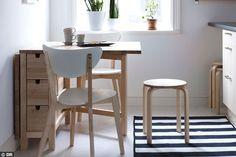 Tablée scandinave à la cuisine