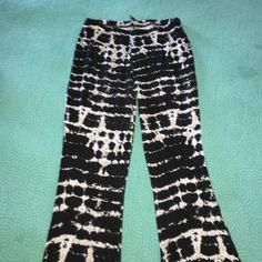 Tie dye pants SO COMFY & adorable !!! Made out of cotton ... Bought these at Island Gypsy (boutique at the jersey shore) Label Pants
