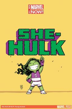 She-Hulk by Skottie Young *